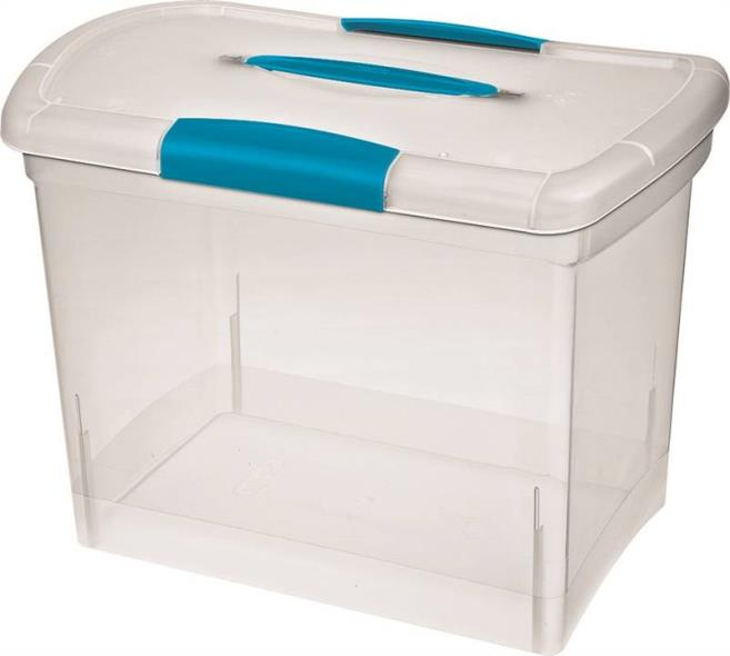 Nesting ShowOffs 18768606 Large Nesting Storage Box, 15-1/4 in L x 9-3/4 in W x 11-1/2 in H, Plastic