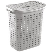 HAMPER LAUNDRY WEAVE CEMENT