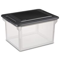 BOX FILE CLEAR 18.5X14X11IN