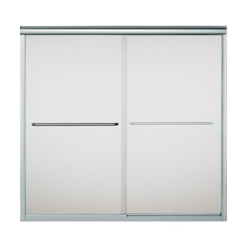 542559SG03 Silver By-pass Tub Door
