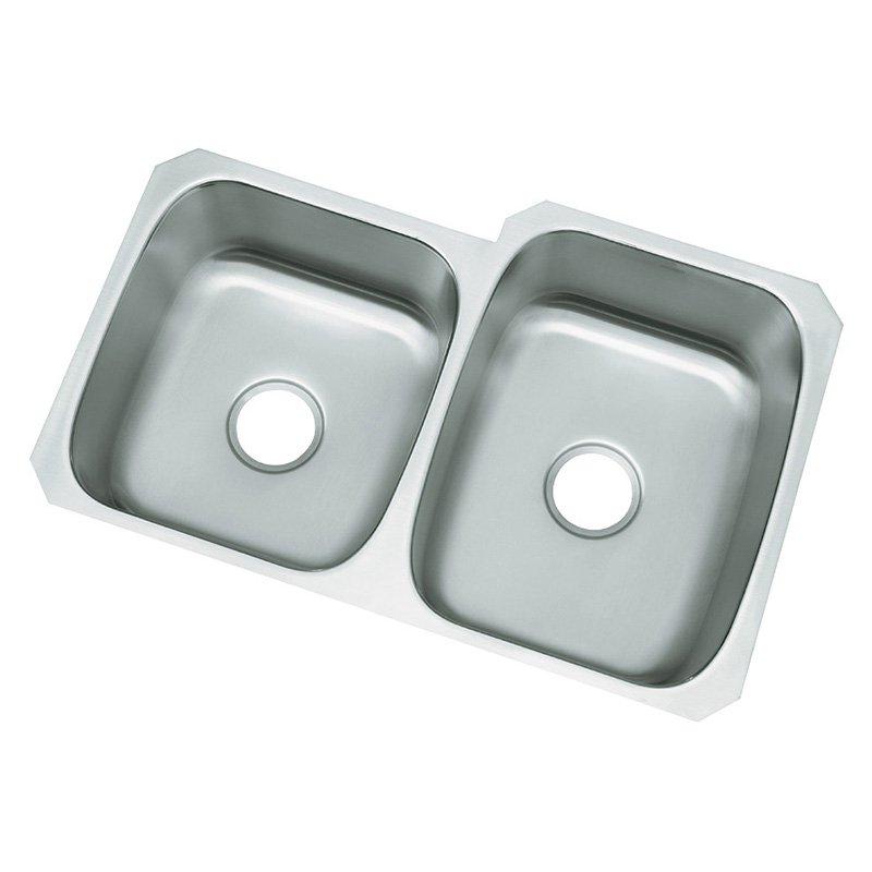 29X21 Double Bowl Undercounter Kitchen SINK *MCALLI Stainless Steel