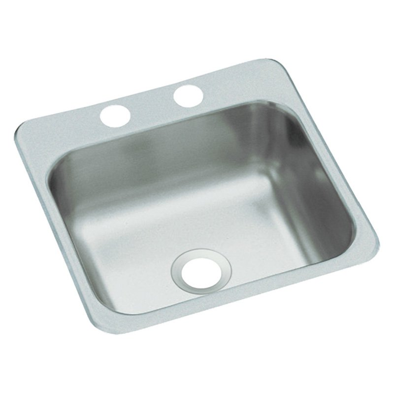 15 X 15 One Hole Stainless Steel Bar Sink