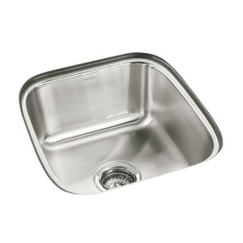 16 X 18 Single Band Undercounter Kitchen SINK *SPRING Stainless Steel