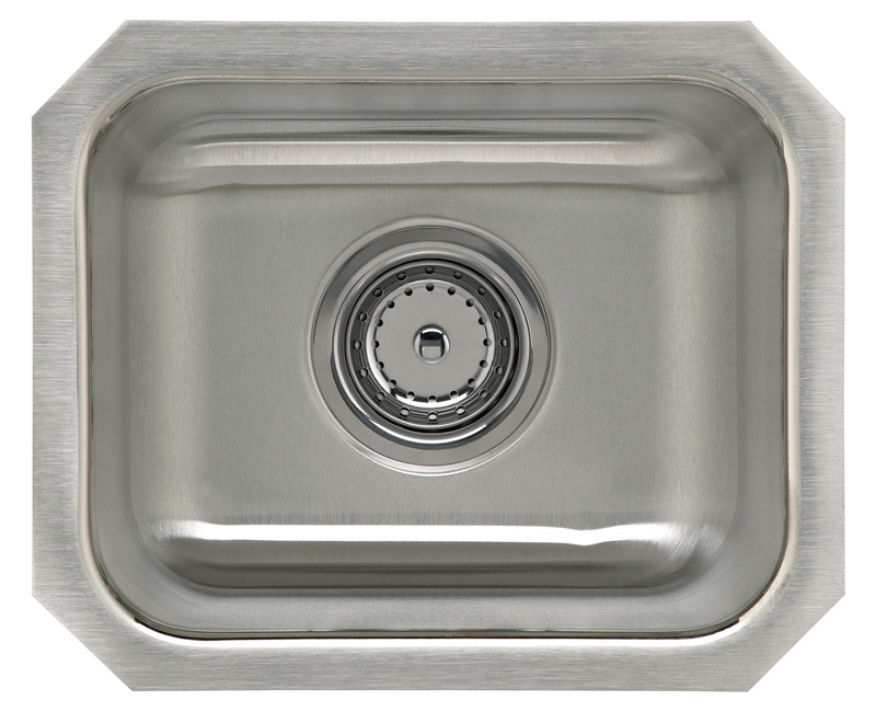 14-1/4 X 11-3/4 Single Basin Undercounter Sink