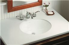 17 X 13 0 Hole Vitreous China Undercounter Lavatory Wescott White