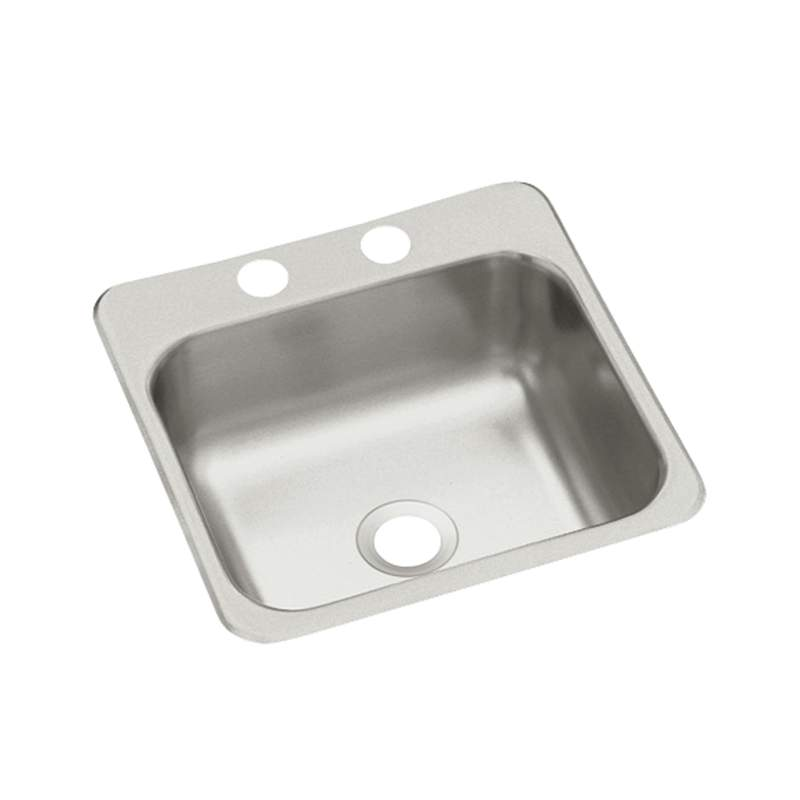 Bar Sink Stainless Steel 15X15X5-1/2