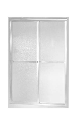STERLING STANDARD BY PASS SHOWER DOOR 56 IN. HIGH X 48 IN. WIDE 20-9/16 IN. (WALK THROUGH) MAX OPENING