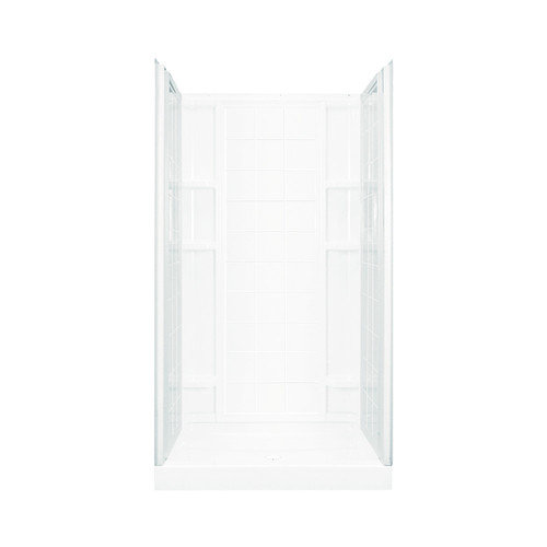 STERLING VIKRELL 36 IN., 48 IN., OR 60 IN. END WALL SET WHITE