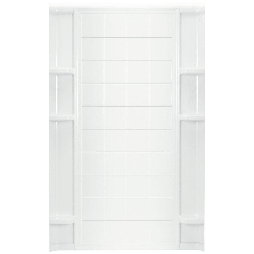 STERLING VIKRELL ENSEMBLE 48 IN. BACK WALL WHITE