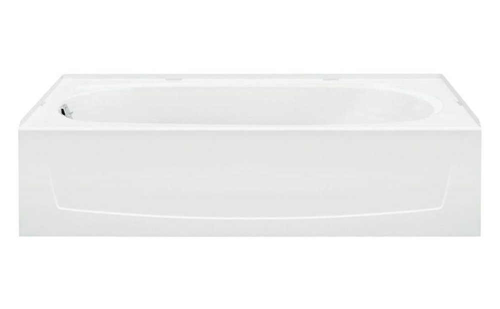 PERFORMA� BATHTUB WITH LEFT-HAND DRAIN, 60X29X15 IN., WHITE
