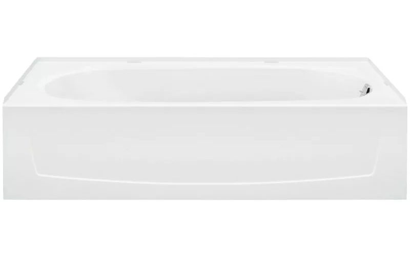 "Performa™ 60""x29""x15"" Bathtub With Right-Hand Drain, White"