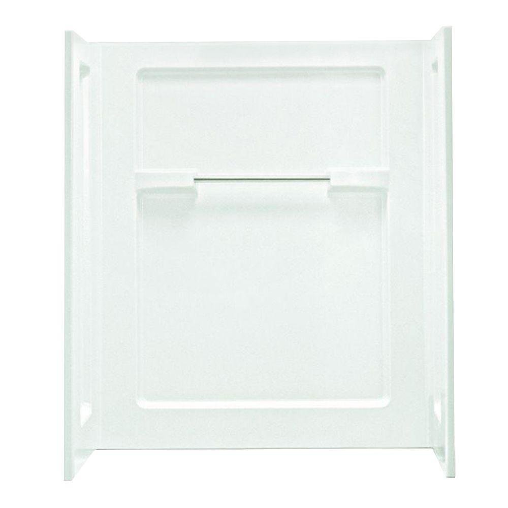 "Advantage™ 48"" Vikrell Shower Wall Kit, White"
