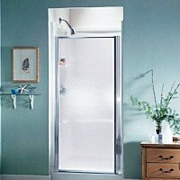 STERLING SHOWER DOOR MIN. OPENING 34.5 IN. MAX OPENING 36 IN.