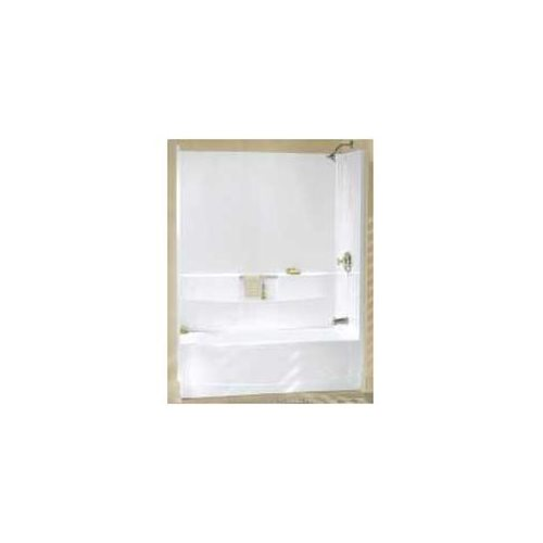 PERFORMA� AFD BATHTUB WITH LEFT-HAND DRAIN, 60X29 IN., WHITE