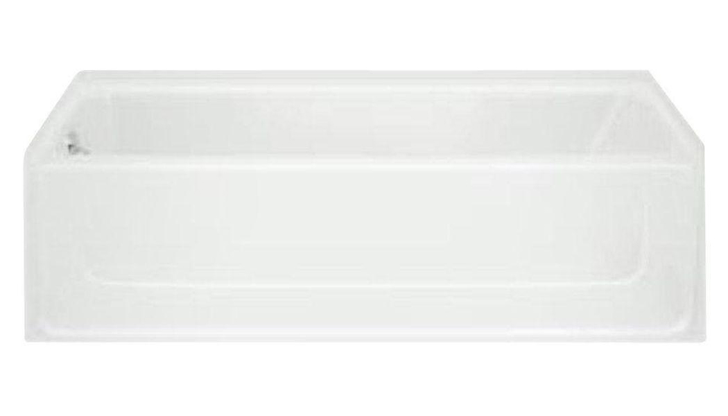 ALL PRO� BATHTUB WITH LEFT-HAND DRAIN, 60X30 IN., WHITE
