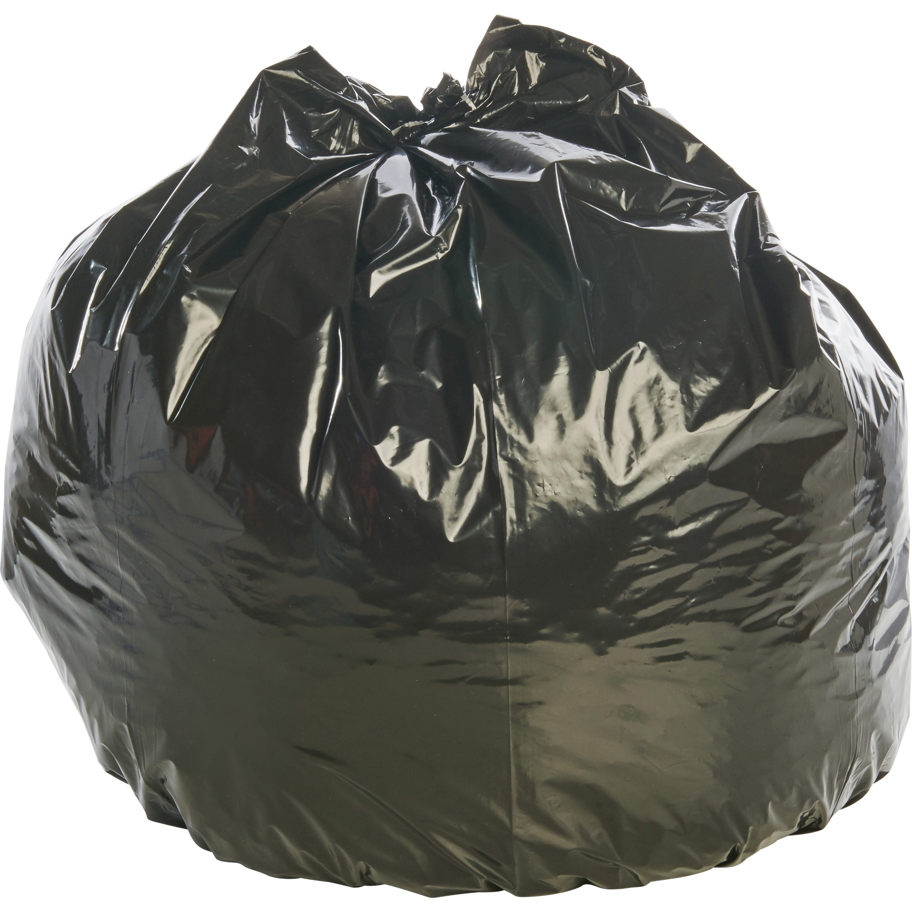 Insect-Repellent Trash Garbage Bags, 45gal, 2mil, 40 x 45, Black, 65/Box