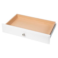 DRAWER WHITE 4IN