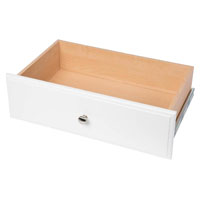 DRAWER WHITE 8IN