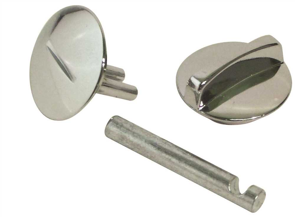 CONCEALED LATCH FOR STEEL DOOR, 1 IN.