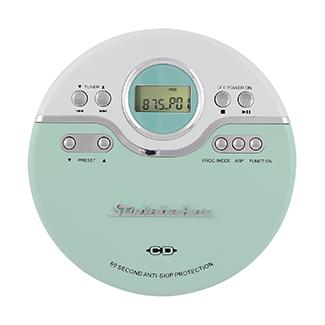 STUDEBAKER SB3703MW JOGGABLE PERSONAL CD PLAYER WITH FM RADIO