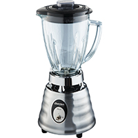 Heritage Blend 004242-600-NP0 Classic/Push-Button Blender, 600/1000 W, 120 V, 2 Cup, Chrome