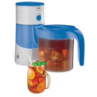 Mr Coffee TM70 Auto Shut-Off Iced Tea Maker, Plastic