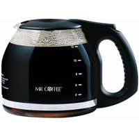 Sunbeam Mr.Coffee Replacement Coffee Decanter, Black