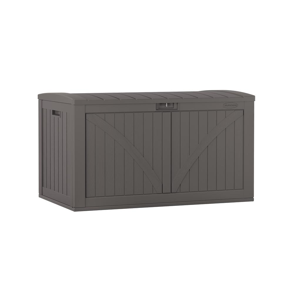 BOX DECK RESIN GRAY 134GAL