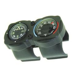 Sun Co CyclGage Compass/Thermometer