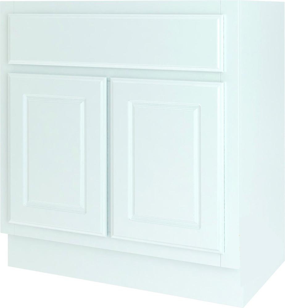 BATHROOM VANITY WHITE 30X18
