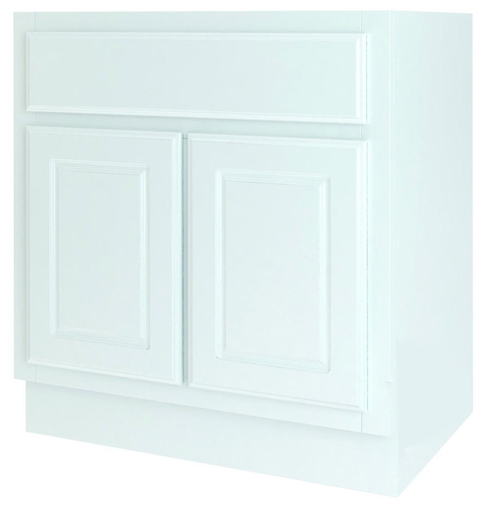 BATHROOM VANITY WHITE 30X21
