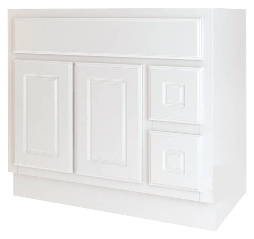 BATHROOM VANITY WHITE 36X21