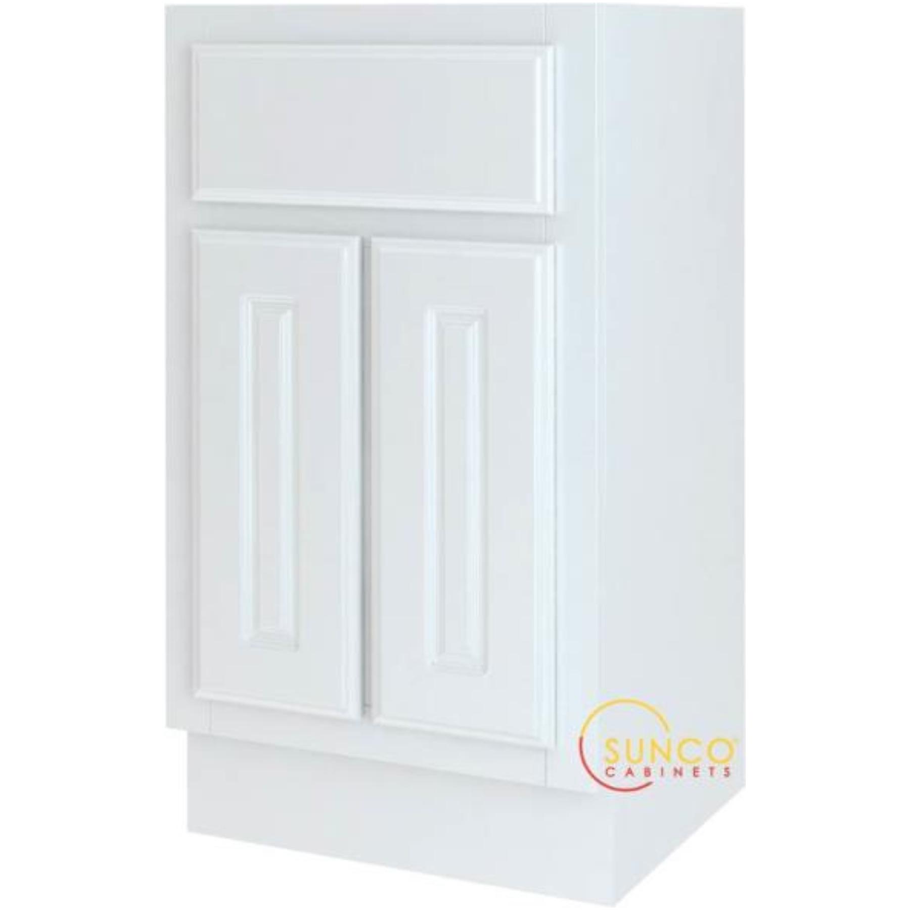 BATHROOM VANITY WHITE 18X16