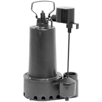SUMP PUMP IRON 1/2HP