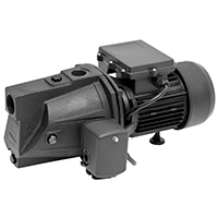 Superior Pump 94505 Shallow Well Jet Pump, 1/2 hp, 1-1/4 NPT Inlet, 1 in Outlet, 25 ft Suction Lift, 67 psi Inlet