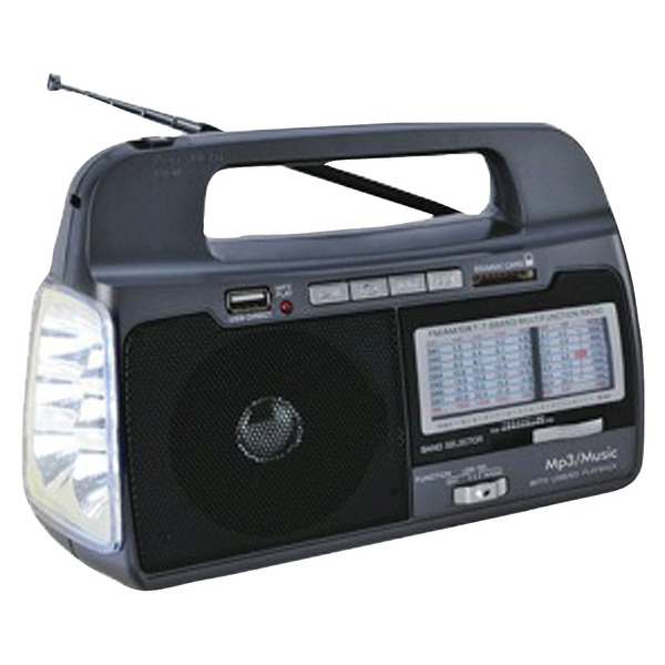 Supersonic SC-1082 9-Band AM/FM/SW1-7 Portable Radio