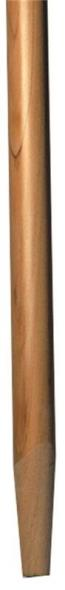 Supreme LB210 Tapered Universal Broom Handle, 1-1/8 in Dia, 60 in L, Wood, Lacquer