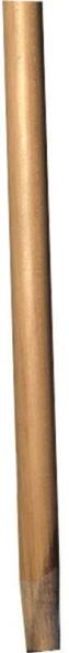 Supreme LB169 Tapered Universal Broom Handle, 15/16 in Dia, 72 in L, Wood, Lacquer