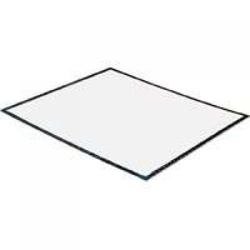 Step N Peel DG30W Floor Mat, 22-1/2 in L x 31-1/2 in W, Polyethylene, White