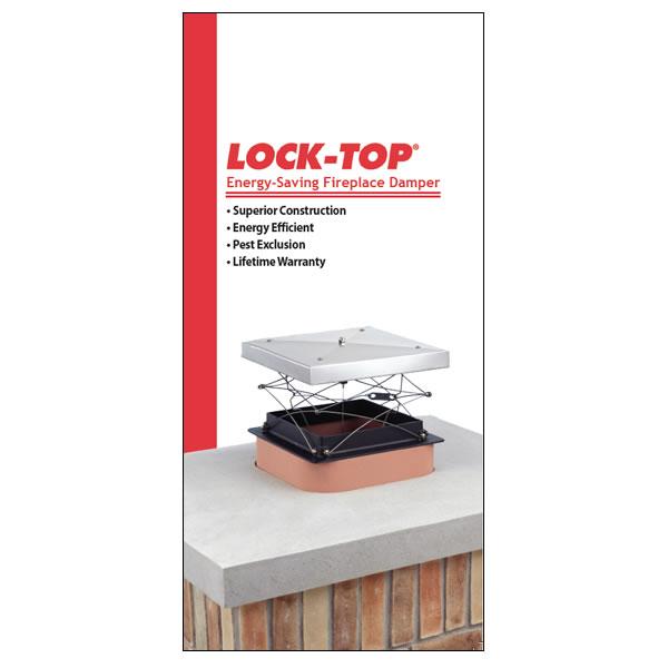 Lock-Top Energy-Saving Damper Flyers, Pack Of 100