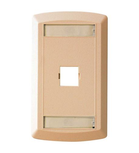 Suttle Single Outlet Face - Ivory