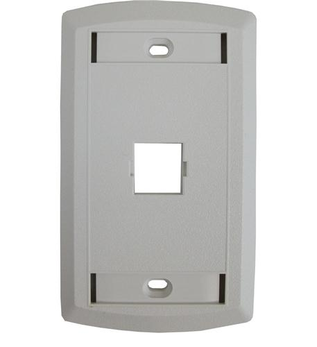 Suttle Single Outlet Face  WHITE