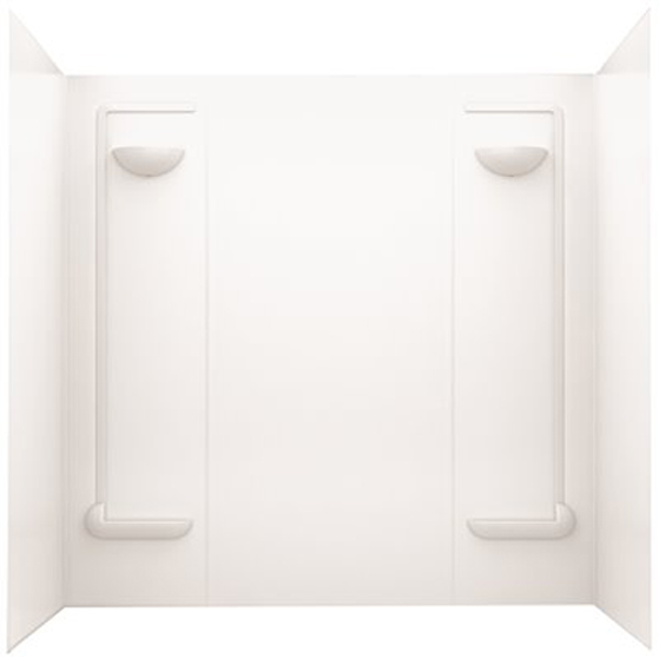 SWAN� TF-57 VERITEK� BATHTUB WALL KIT, 30 D X 60 W IN., WHITE