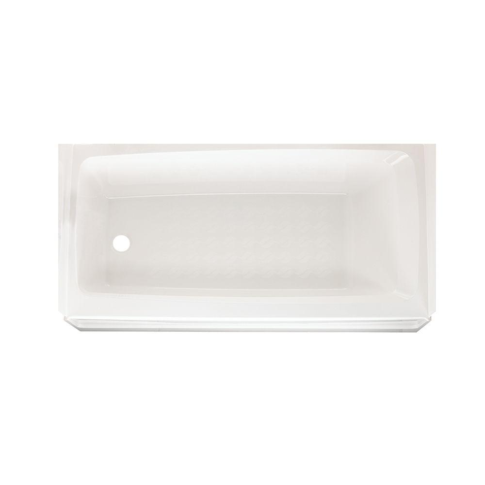 SWAN� VERITEK� BATHTUB WITH LEFT-HAND DRAIN, 30 D X 60 W IN., WHITE