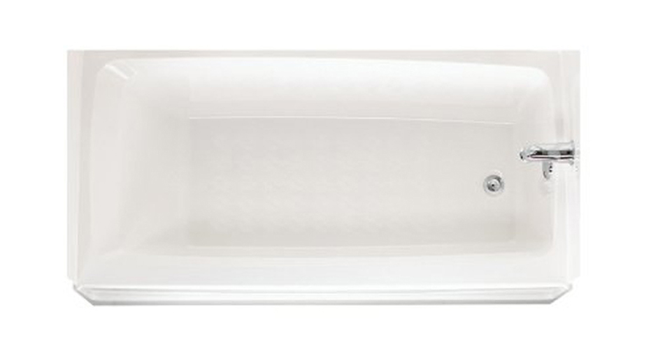 SWAN� VERITEK� BATHTUB WITH RIGHT-HAND DRAIN, 30 D X 60 W IN., WHITE