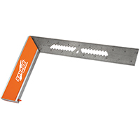 Savage SVR149 Tri Square, 9 in L, Aluminum Anodized Frame/Stainless Steel Blade