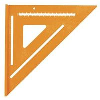 Swanson Speedlite T0701 High Visibility Square, 12 X 12 in, Orange