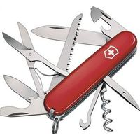 Huntsman 56201 Pocket Knife, 15-In-1 Function, Stainless Steel, Red