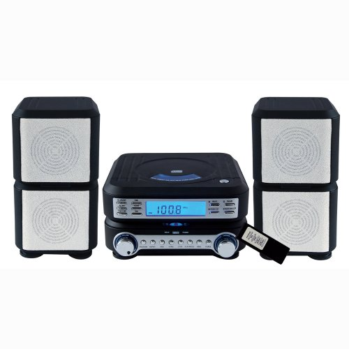 SYLVANIA SRCD635 AM/FM CD Micro System