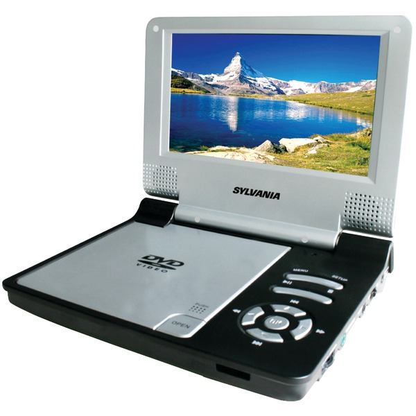 "SYLVANIA SDVD7014 BLACK 7"" Portable DVD Players (Black)"